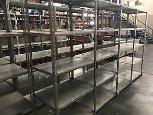 Dexion Shelving - 50 Bays of Steel Slotted Angle Warehouse Racks Salisbury Brisbane South West Preview