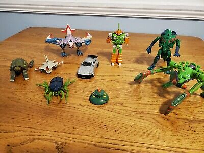Lot of 9 Transformers from the 90s and 80s - VINTAGE!