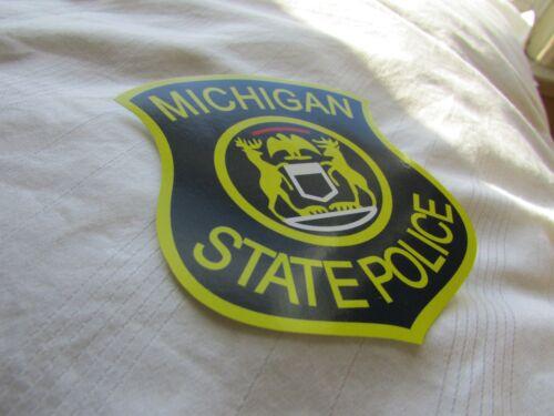 MI Michigan State Police Decal Sticker NEW