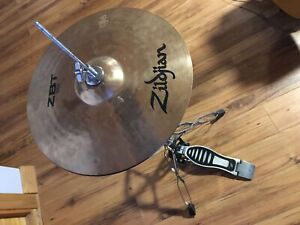 """Zildjian 14"""" zbt High Hat and stand"""