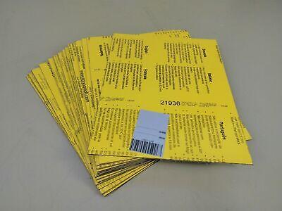 Gravograph Gravoply 21936 0 116in Yellowblack 12.01x9 116in