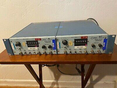 Bnc Berkeley Nucleonics Model 7010 Digital Delay Generator Both Units Work
