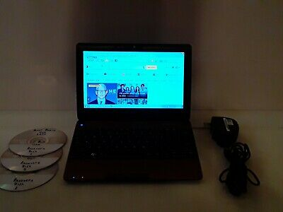 "Red - Acer Aspire One Netbook 10.1"" D270 1.6 GHz 320GB HD, 2GB RAM Windows 7"