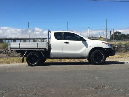 2014 Mazda BT-50 (Auto) Freestyle cab Fleettrades tray Spotswood Hobsons Bay Area Preview
