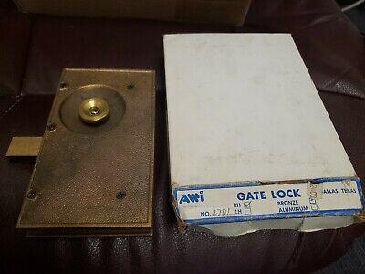 Brand Awi Bronze Gate Lock