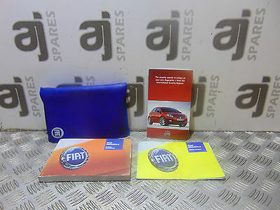 FIAT MULTIPLA 1.6 PETROL 2008 OWNERS MANUAL & WALLET (SOME MARKS)