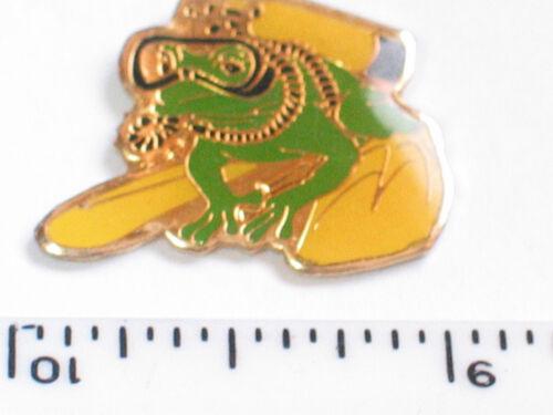 Scuba Diving Frog Pin (#4)
