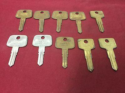Honda Volvo By Curtis Automotive Hd70 Vl4 Key Blanks Set Of 10 - Locksmith