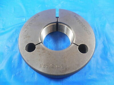 M36 X 2 6g Metric Thread Ring Gage 36.0 2.0 Go Only P.d. 34.663 Mm Inspection