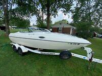Stingray 200cs Boat Sport Cuddy Cabin 20' Mercruiser 4.3L with Trailer + Extras