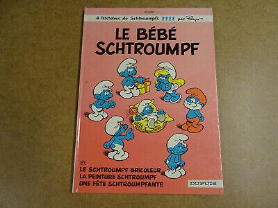 BD EO / LES SCHTROUMPFS T.12 - LE BEBE SCHTROUMPF