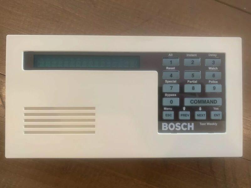Bosch D1255 Alpha Numeric Command Center