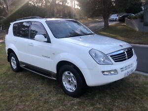 7 Seater 2005 Ssangyong Rexton RX270  Turbo Diesel Auto Wagon Kellyville The Hills District Preview