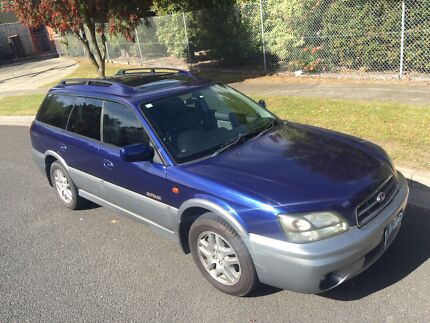 Subaru Outback 2002 Wagon Limited REGO MAY 2018 Automatic 2.5