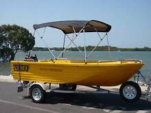 HIRE A BOAT POLYCRAFT  NO LICENCE NEED  ALL SAFETY GEAR PROVIDED Jacobs Well Gold Coast North Preview