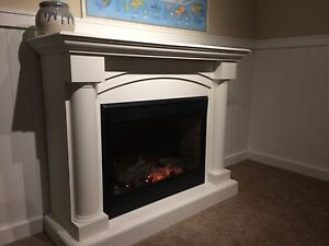 Electric fireplace and hearth $500 OBO