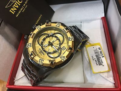 24267 Invicta Men's 52mm Excursion Touring Quartz Chronograph SS Bracelet Watch