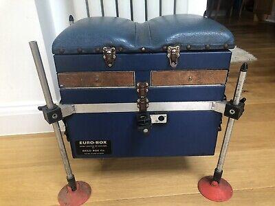 Brilo Box Co - Euro-box Fishing Seat Box, Complete With 45 cm Octoplus Legs