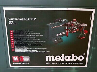 Martillo Combinado &Taladro Atornillador Metabo Combo 2.3.2 18v BS 18 KHA 18 LTX