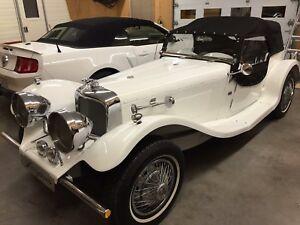 Jaguar ss100 1937 Réplique