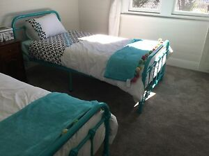 2 single Iron look beds Bowral Bowral Area Preview