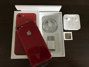 NEW RED I-PHONE 8 PLUS (64GB) unlocked