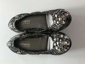 Going out bling flats size 6