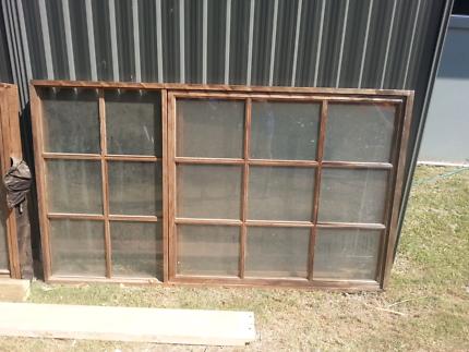 Cedar wood windows Stegbar brand great condition.