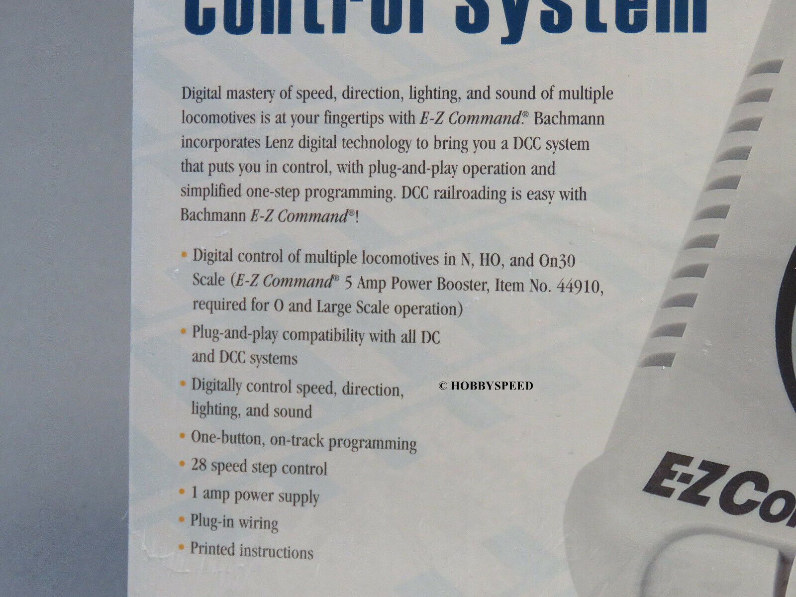 Bachmann E Z Command Digital Dcc Controller Ho N Scale Transformer Track Wiring 4 Of 5