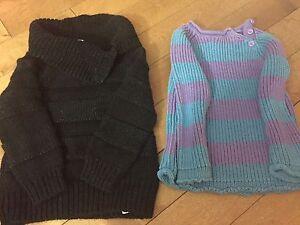 Girls size 2t sweaters