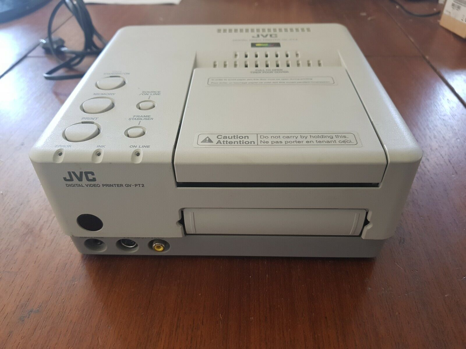 Imprimante photos cartes postale jvc digital video printer gv-pt2
