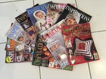 Inspirations Magazines. Early Editions 1 - 9