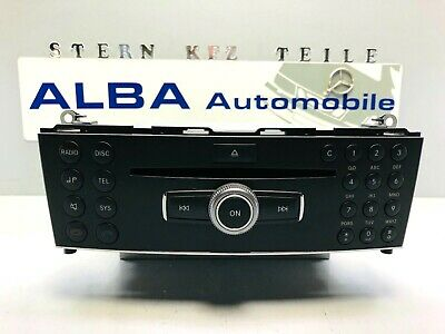 Orig Mercedes Radio Mp3 CD Bluetooth Audio A2049060202  W204 S204 X204 GLK