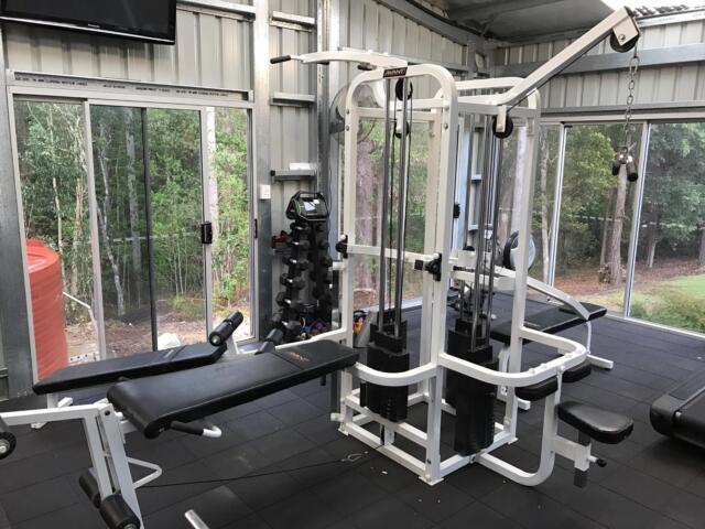Avanti home gym set fitness gumtree australia