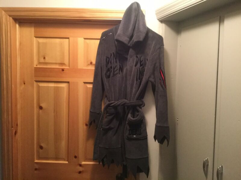 Adult Size Small Walking Dead Robe The Walking Dead Hooded Robe Adult Small
