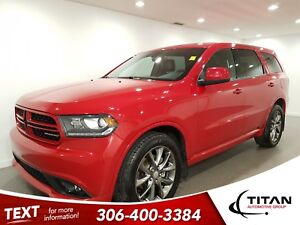 2015 Dodge Durango SXT|7 Pass|V6|AWD|leather|Suede|Sunroof