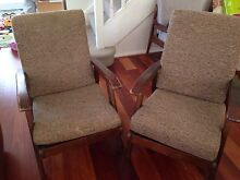 Retro arm chairs x 2 Narraweena Manly Area Preview