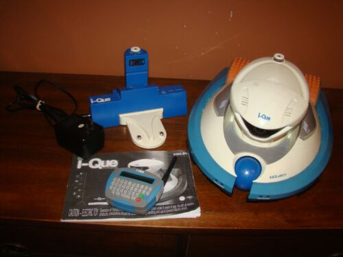 Rare i-Que Personal Robot, Remote Control, Charger and manual