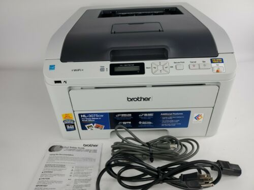Brother HL-3075CW Workgroup Wireless Color Laser Printer w/i