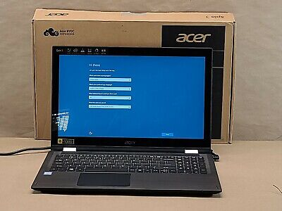 Acer Spin 3 SP315-51-37E7 15.6'' (1024 GB, Intel Core i3 7th Gen., 2.4 GHz, 6GB