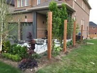 Post holes, Deck and Fence Builder