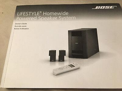 Used,  Bose Lifestyle Homewide Expansion System 535/V35/V25/T20/T10/V30/V20/V10AV48 for sale  Alpharetta