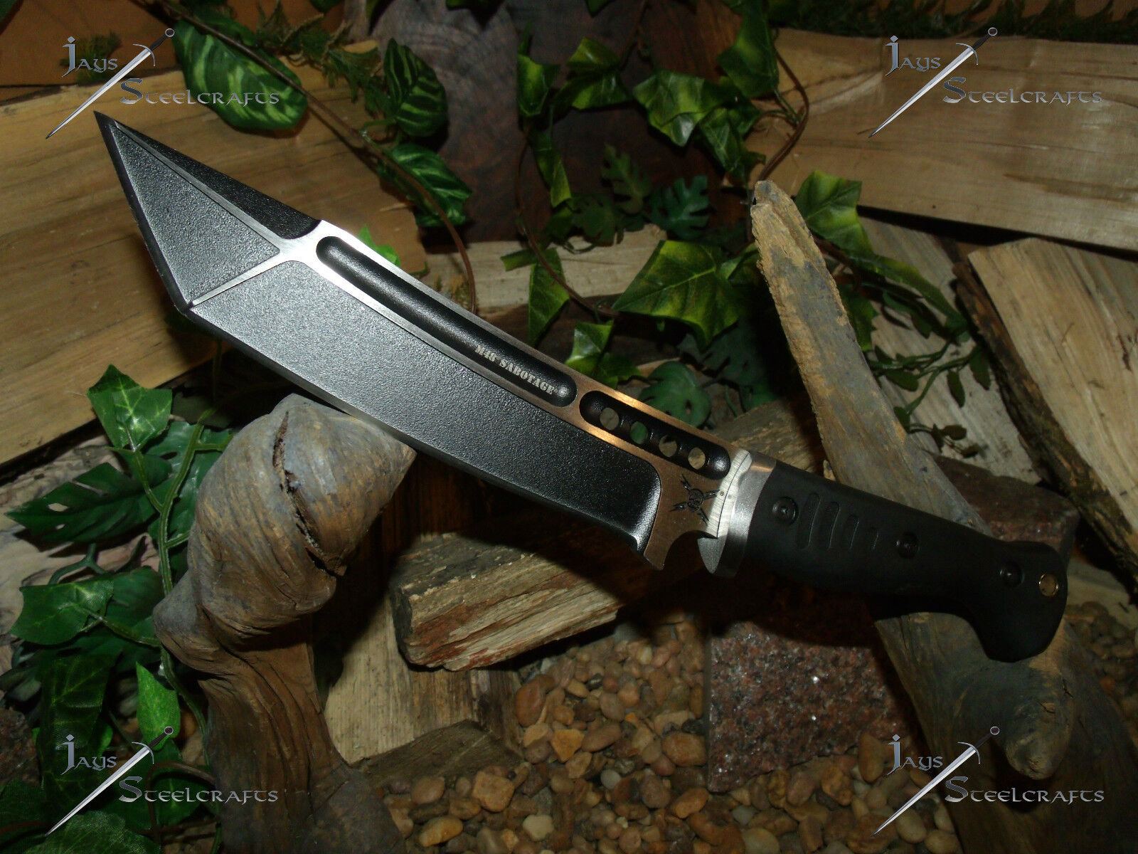 Knife/Bowie/Tanto/2Cr13SS/M48/Sabotage/United cutlery/Surviv