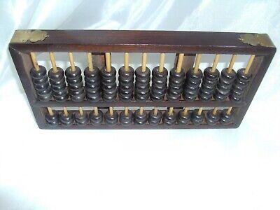 Vintage Lotus Flower Brand Abacus 13 Rungs 91 Beads