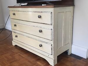 Dresser - Distressed Treated Cremorne North Sydney Area Preview