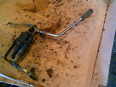 Ihc Cub 154 Low Boy Ih Tractor Hydraulic Control Valve Assembly Lines Lever