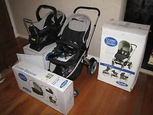 Steelcraft Cruiser Stroller, Infant Carrier Capsule & Bassinet! Mulgrave Monash Area Preview