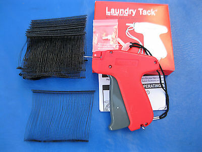 Fine Tagging Gun 1000 3 Black Fine Plastic Barbs