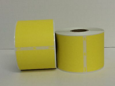 4 Rl Dymo Compt Yellow 30256 Labelwriter 300 Labels Pr 330 400 450 Turbo 4xl