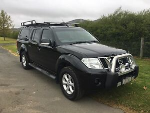 Nissan Navara ST 4x4 Manual 2012 Shepparton Shepparton City Preview